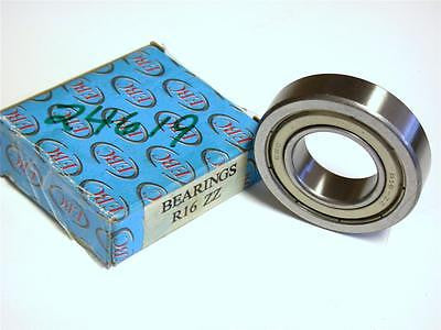 BRAND NEW IN BOX EBC SHIELDED BALL BEARING 25MM X 51MM X 13MM R16 ZZ (4 AVAIL.)