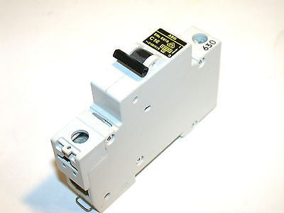 AEG 16 AMP 277/480V  CIRCUIT BREAKERS DIN MOUNT E81S C16