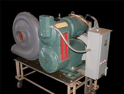 REEVES BUFFALO FORGE MOTOR DRIVE BLOWER ASSEMBLY 7 1/2 HP MODEL 300-V1E-18