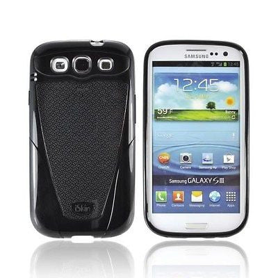 New iSkin VBSSG3-BK2 Vibes Case for Samsung Galaxy S III Black FREE SHIP