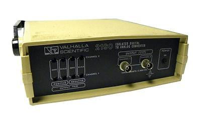 VALHALLA SCIENTIFIC ISOLATED DIGITAL TO ANALOG CONVERTER MODEL 2190D