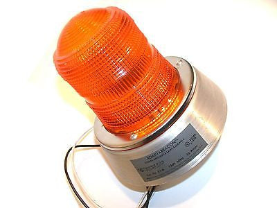 NEW EDWARDS ADAPTABEACON AMBER SIGNALING LAMPS 51-A