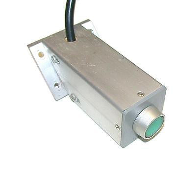 ALUMINUM ONE HOLE MOMENTARY PUSHBUTTON STATION ENCLOSURE 1 N.O. CONTACT