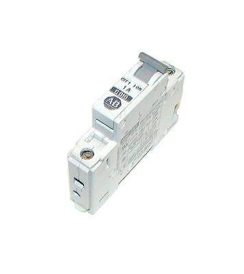 ALLEN BRADLEY 1492-CB1  G010  SINGLE-POLE CIRCUIT BREAKER 1 AMP 277 VAC