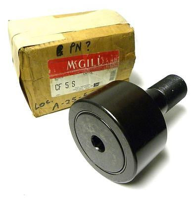 "NEW MCGILL CF 5 S CAMROL CAMFOLLOWER 5"" ROLLER DIAMETER 2"" SHAFT DIAMETER"