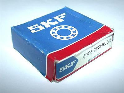 BRAND NEW IN BOX SKF DEEP GROOVE BALL BEARING 6006 2RSNRJEM (4 AVAILABLE)