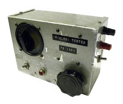CUSTOM 161BL501 TESTER TS1334 - SOLD AS IS