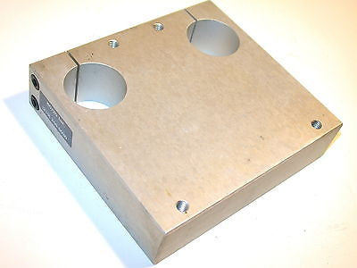 "Up to 2 80/20 5750 Double Shaft Blank 1 1/2"" Diameter Mounting Plates"