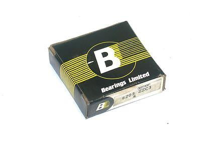 BRAND NEW IN BOX BEARINGS LIMITED 25MM X 52MM X 15MM BEARING 6205 ZZC3 (2 AVAIL)