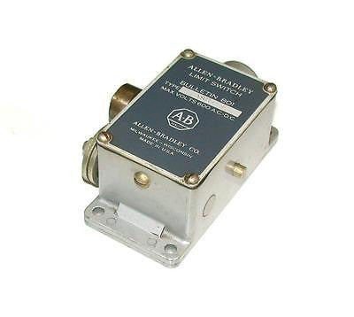 ALLEN BRADLEY LIMIT SWITCH   600 VAC   MODEL 801ASB1-1  (2 AVAILABLE)