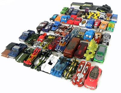 LOT OF 50 MIXED HOT WHEELS TRUCKS / CARS