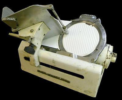 GLOBE SLICING MACHINE CO. 150 GLOBE GRAVITY FEED SLICER - SOLD AS IS