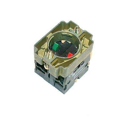 MEW TELEMECANIQUE  PUSHBUTTON CONTACT BLOCK  MODEL ZB2BZ106  (2 AVAILABLE)