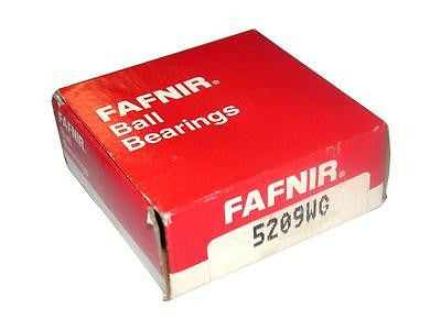 BRAND NEW IN BOX FAFNIR DOUBLE ROW BALL BEARING 5209WG