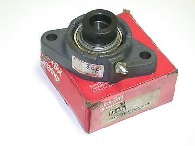 "BRAND NEW LINK-BELT MOUNTED BEARING UNIT 3/4"" BORE FX3-Y212N (2 AVAILABLE)"