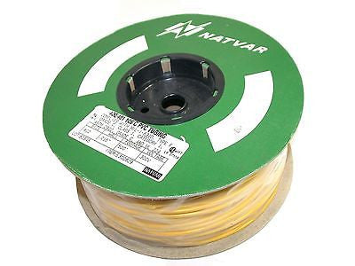 "UP TO 20 NATVAR 400/461 500' .016"" WALL 300V PVC ELECTRICAL SLEEVING TUBING #10"