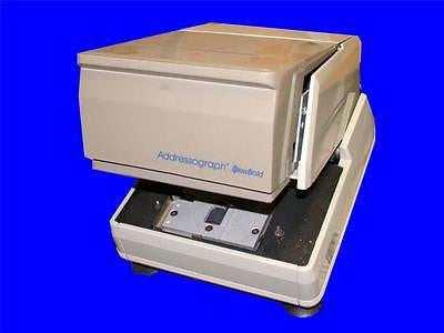 VERY NICE DATACARD BOLD ADDRESSOGRAPH MODEL 864