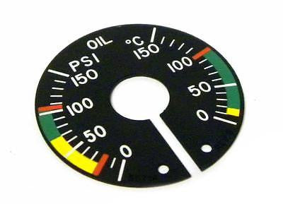 NEW HORIZON AEROSPACE S5714 OIL DIAL 0-150 PSI 0-150°C (2 AVAILABLE)