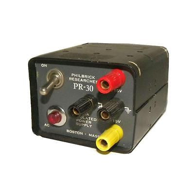 PHILBRICK RESEARCH PR-30 REGULATED POWER SUPPLY +/- 15 VDC 30 AMPS