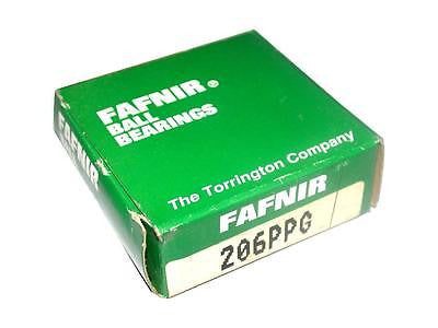 BRAND NEW IN BOX FAFNIR RADIAL SINGLE ROW BALL BEARING 206PPG (5 AVAIL)