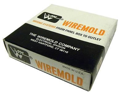 NEW IN BOX WIREMOLD G-4007C-2 GRAY 2-GANG DEVICE PLATE