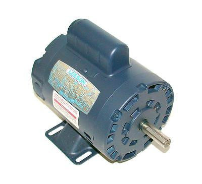 NEW 14 HP LEESON SINGLE PHASE AC MOTOR   MODEL  A4C17DH1E    CAT. NO. 100000.00