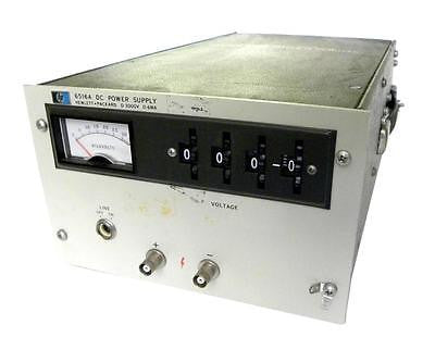 HEWLETT PACKARD HP / AGILENT 6516A DC POWER SUPPLY 0-3000VDC 6MA  - SOLD AS IS