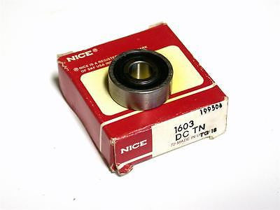 "BRAND NEW IN BOX NICE BALL BEARING 5/16"" X 7/8"" X 11/32"" 1603 DCTN (3 AVAILABLE)"