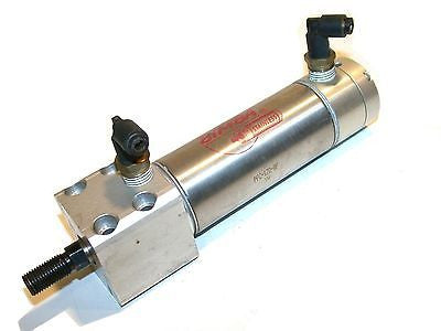 "BIMBA 2"" POSITION FEEDBACK STROKE STAINLESS AIR CYLINDER PFC-172-BF"