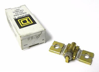 BRAND NEW SQUARE D OVERLOAD THERMAL UNIT HEATING ELEMENT MODEL B9.10 (2 AVAIL.)
