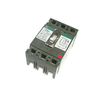 GENERAL ELECTRIC 100 AMP 3-POLE INDUSTRIAL CIRCUIT BREAKER 600 VAC  TED136090