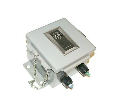 ALLEN BRADLEY DATA HIGHWAY STATION CONNECTOR ENCLOSURE