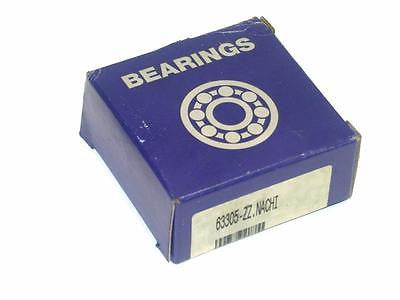 BRAND NEW IN BOX BEARINGS 26MM X 62MM X 26MM 63305 ZZ.NACHI (3 AVAIL)