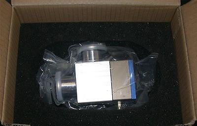 NEW INFICON RIGHT ANGLE VALVE MODEL 253-320  (2 AVAILABLE)