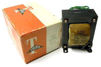 TRIAD POWER TRANSFORMER 115V 50/60HZ SECONDARY 30VCT 6.0A MODEL F-265U