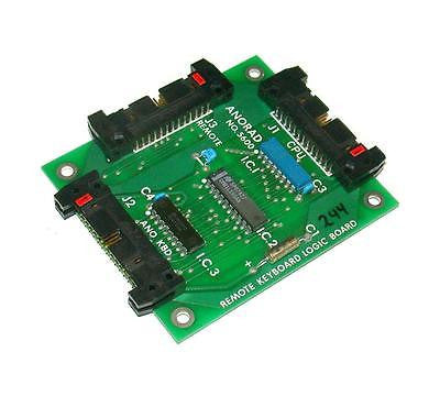 ANORAD  5600  REMOTE KEYBOARD LOGIC CIRCUIT BOARD  (2 AVAILABLE)