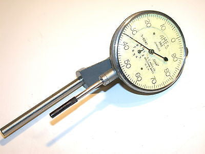 "AMES 1"" RANGE DIAL .001"" INDICATOR WITH MOUNTING BRACKET MODEL 382"