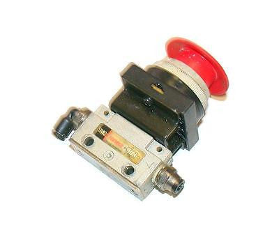 SMC PNEUMATIC E-STOP SWITCH 1/8 NPT MODEL  NVM13
