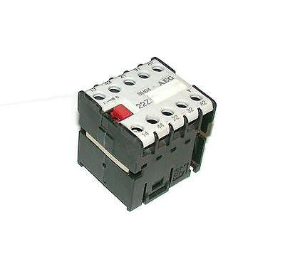 AEG CONTROL RELAY 10 AMP 110/120 VAC COIL MODEL SH04120  (2 AVAILABLE)