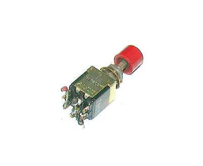 ALCO   MSP205R  PUSHBUTTON SWITCH 5 AMP 115 VAC