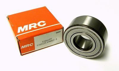 NEW MRC 5204CFF DOUBLE SHIELDED BALL BEARING 20MM X 47MM X 13/16""