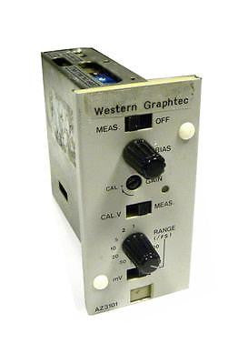 WESTERN GRAPHTEC DIGITAL INPUT AMPLIFIER AZ3101