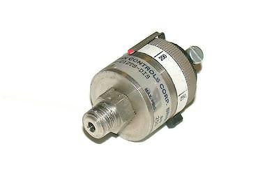 WHITMAN CONTROLS PRESSURE SWITCH 115 VAC MODEL P117G-25H-C12TS-DIS(20 AVAILABLE)