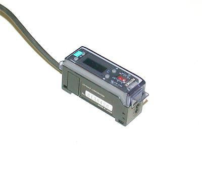 KEYENCE FIBER OPTIC PHOTOELECTRIC SENSOR 12-24 VDC MODEL FS-V1P