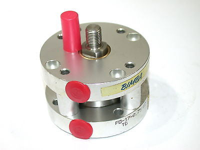 "NEW BIMBA PANCAKE 3/4"" AIR PNEUMATIC CYLINDER FO-17-0.75-MT"