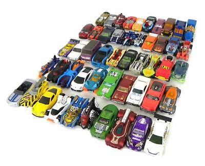 MIXED LOT OF 50 HOT WHEELS CARS
