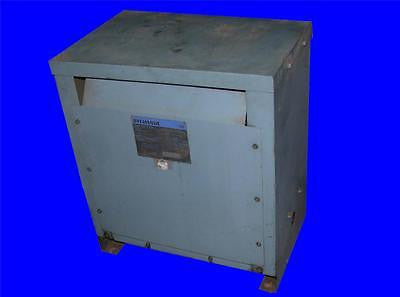 3 PHASE SYLVANIA 20 KVA ISOLATION TRANSFORMER 202 LP3