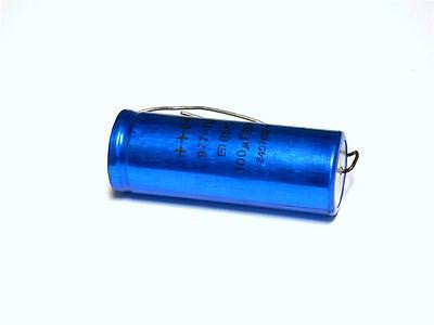 BRAND NEW CAPACITOR 100UF 250V 977-118 (2 AVAILABLE)