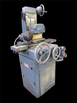 "K.O. LEE S714 6"" X 12"" SURFACE GRINDER - WALKER MAGNETIC CHUCK - 1 HP"