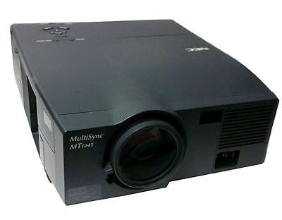NEC MULTISYNC 3LCD PROJECTOR MODEL MT1045